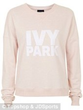 Pink Logo Sweater, £