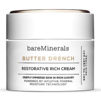 It's new packaging and a new formula for Bare Minerals. This nourishing day cream is perfect for anyone with dry skin like me without it being heavy or sticky.
